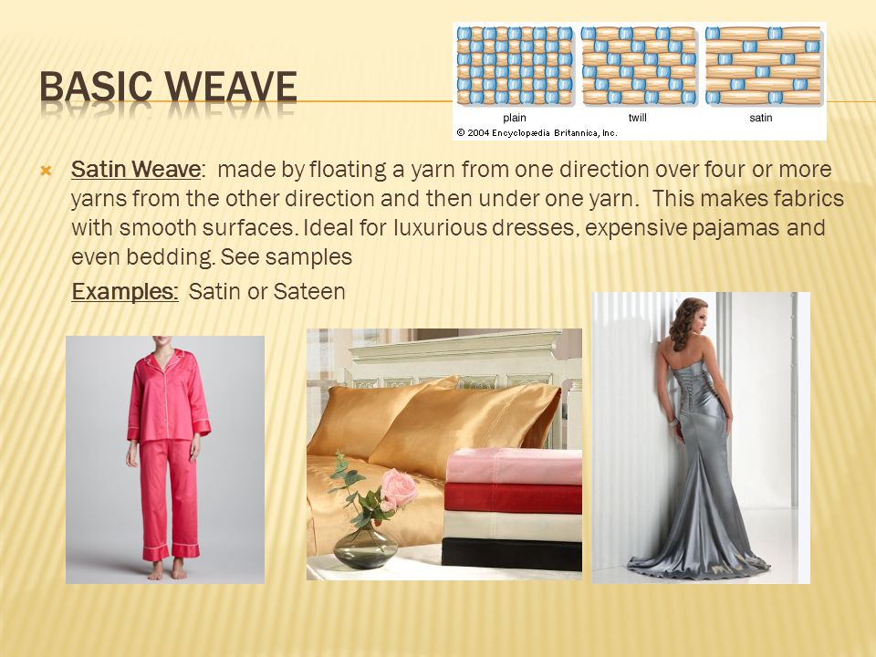 Basic weave