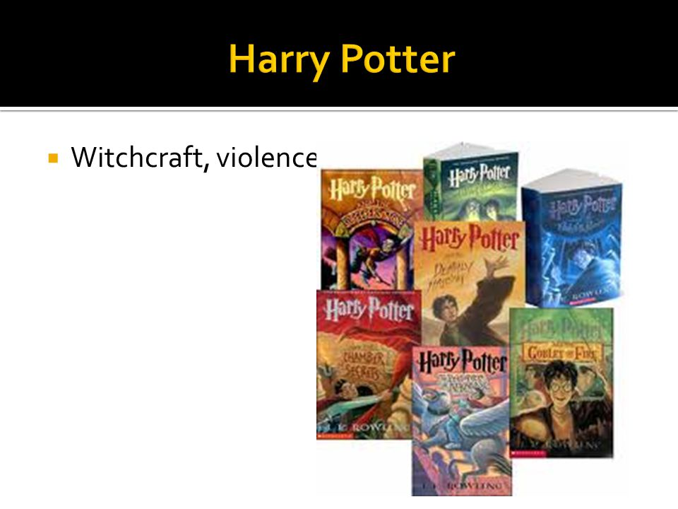 Harry Potter Witchcraft, violence