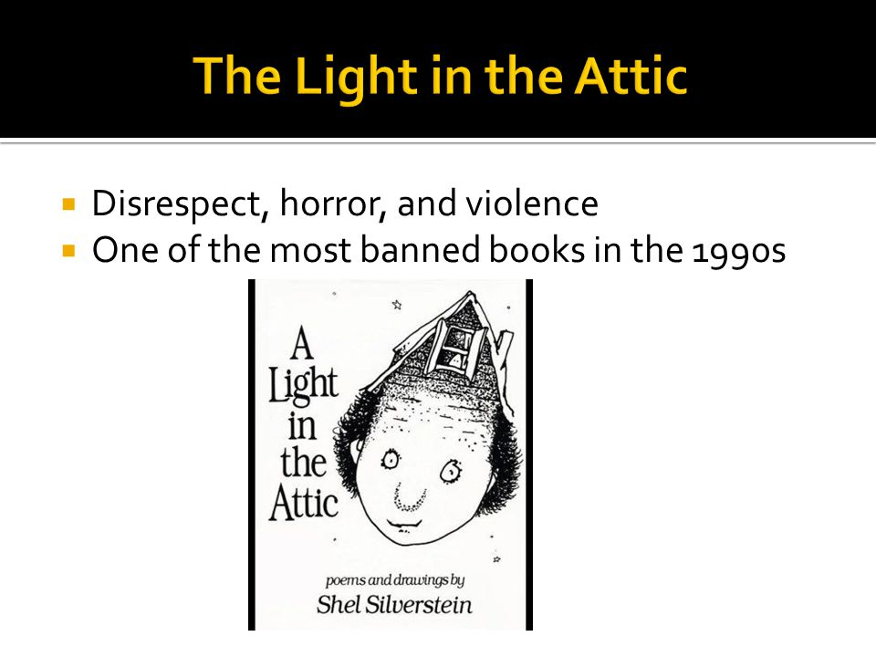 The Light in the Attic Disrespect, horror, and violence
