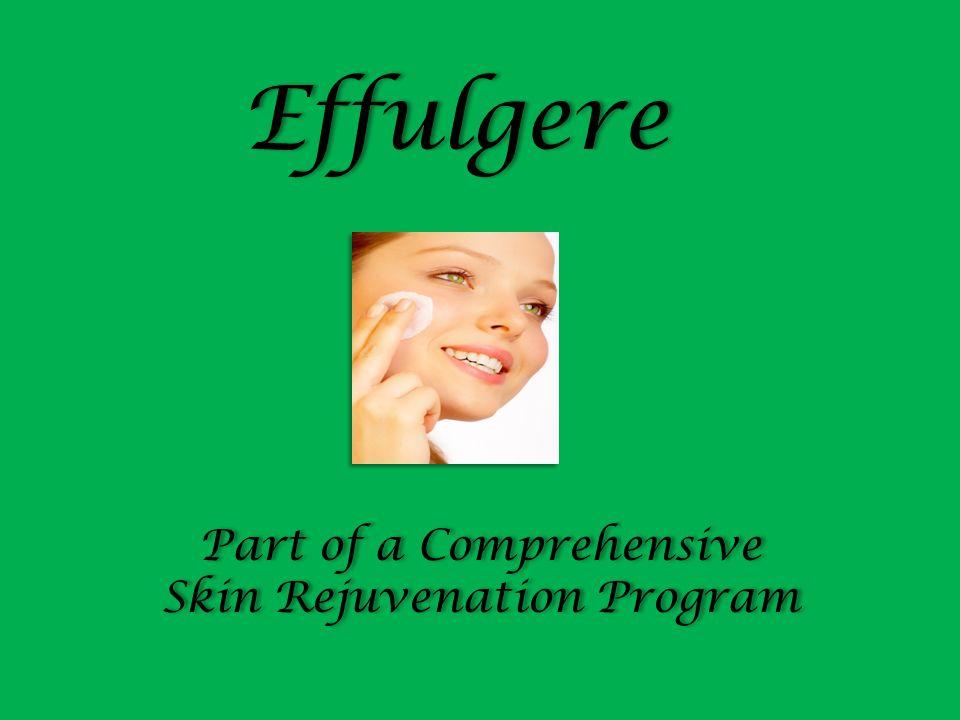 Part of a Comprehensive Skin Rejuvenation Program