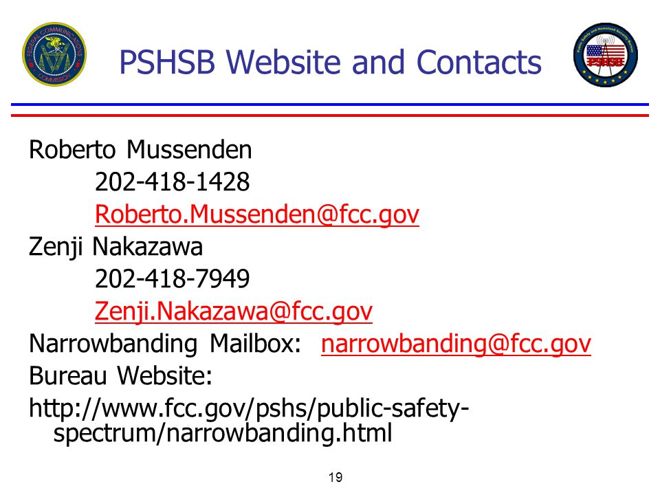 PSHSB Website and Contacts