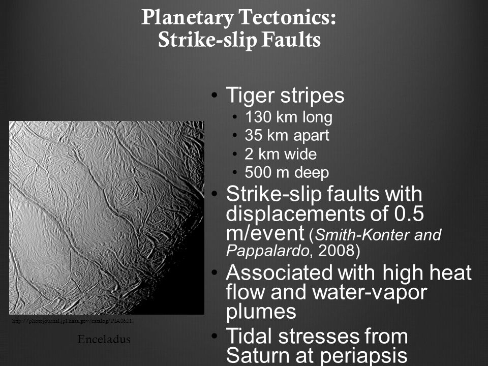 Planetary Tectonics: Strike-slip Faults