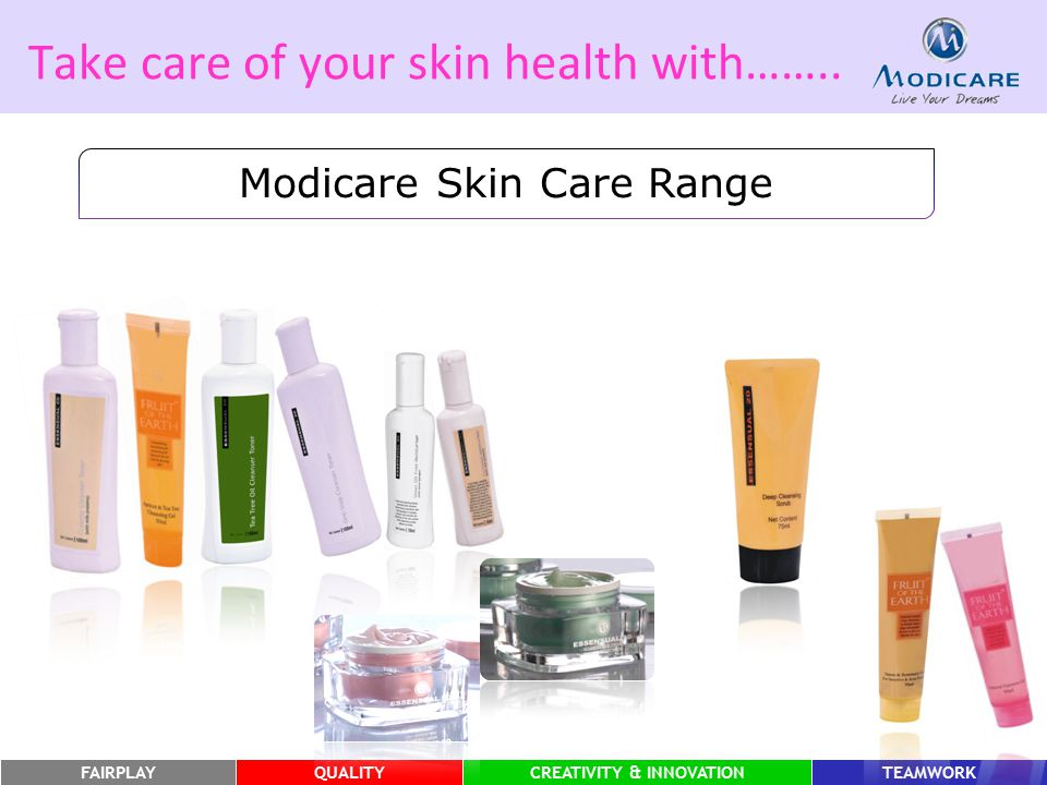 Take care of your skin health with……..