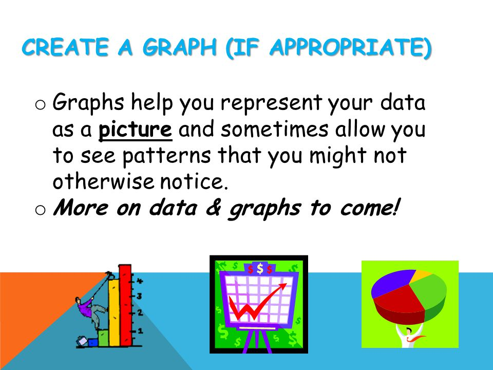 Create a Graph (if appropriate)