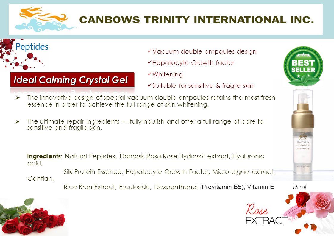 Ideal Calming Crystal Gel