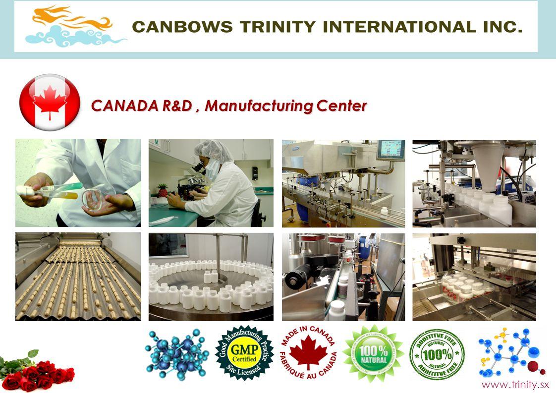 CANADA R&D , Manufacturing Center