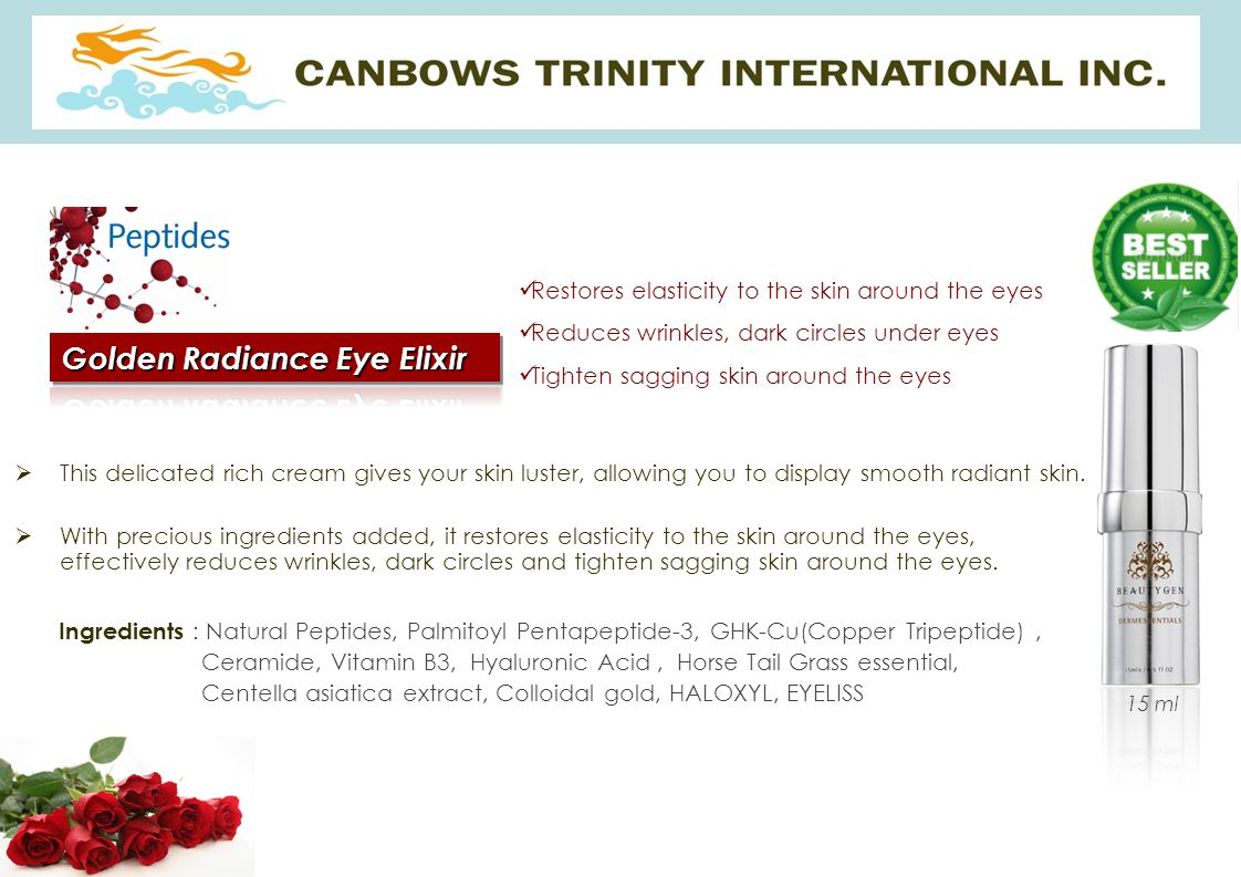 Golden Radiance Eye Elixir