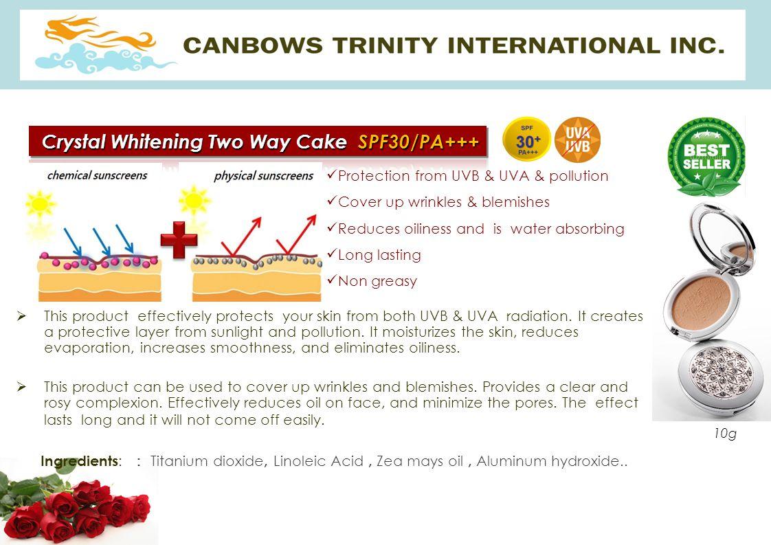 Crystal Whitening Two Way Cake SPF30/PA+++