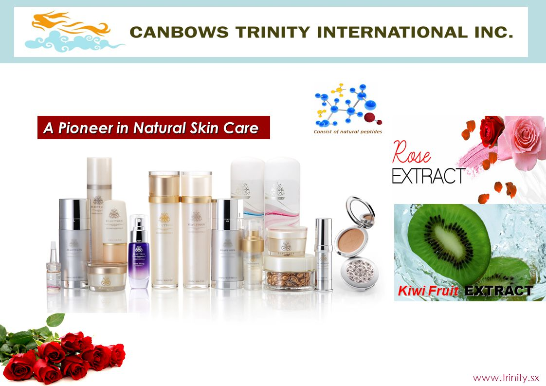 A Pioneer in Natural Skin Care
