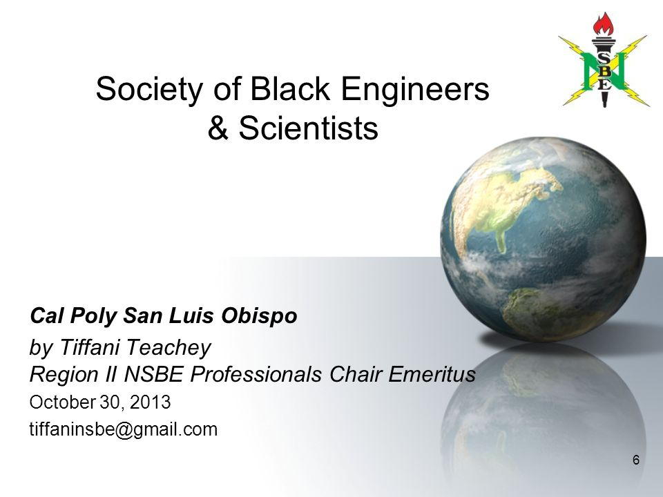 Society of Black Engineers & Scientists