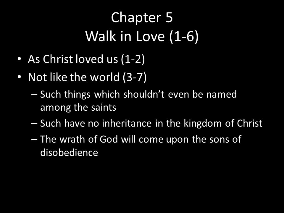 Chapter 5 Walk in Love (1-6)