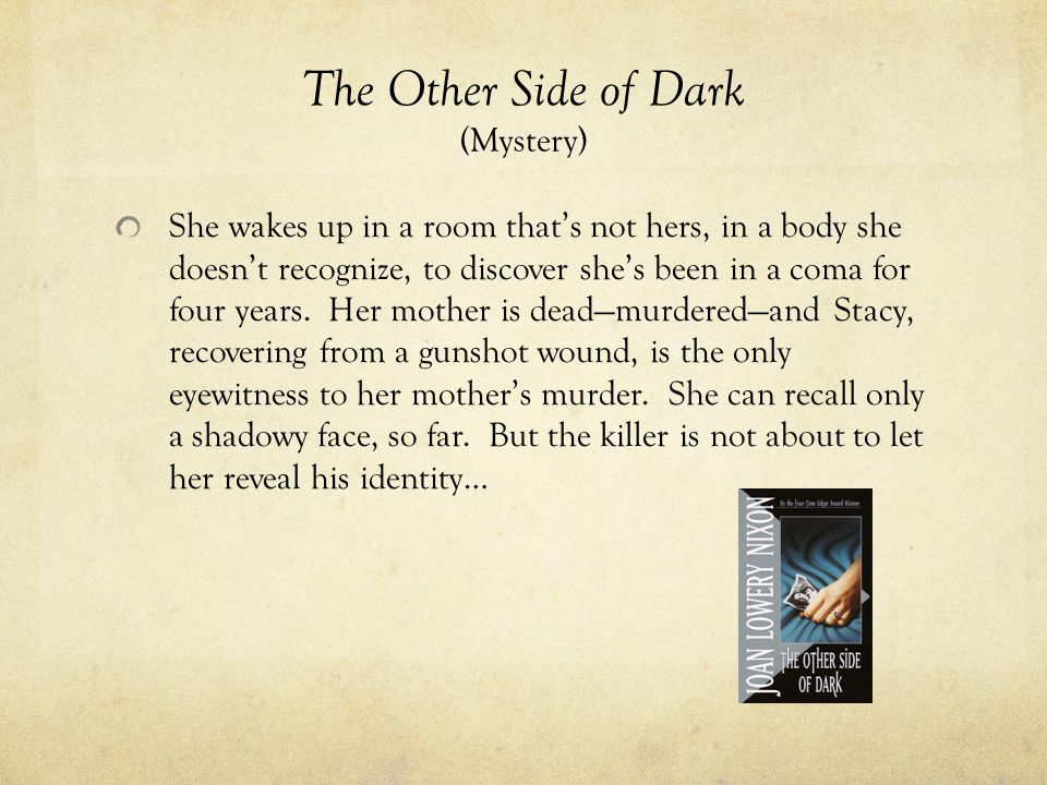 The Other Side of Dark (Mystery)