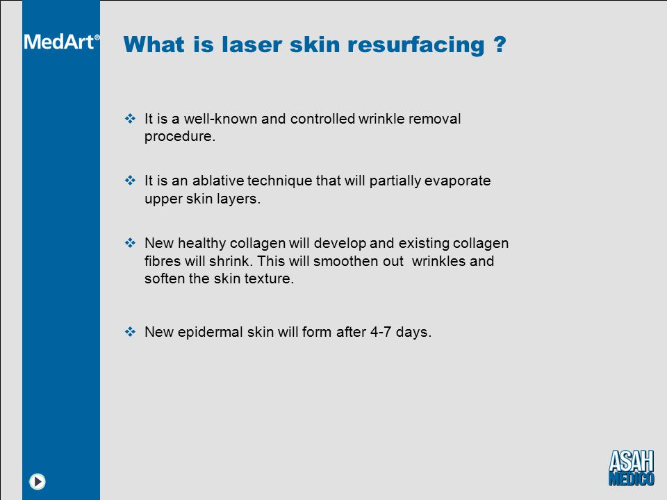 What is laser skin resurfacing