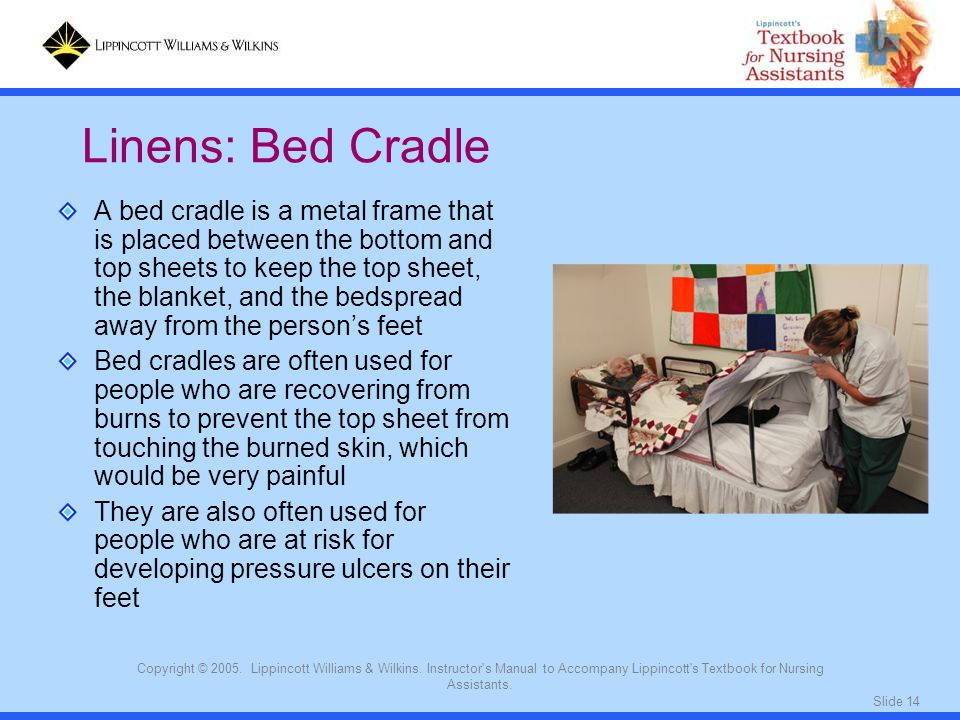 Linens: Bed Cradle