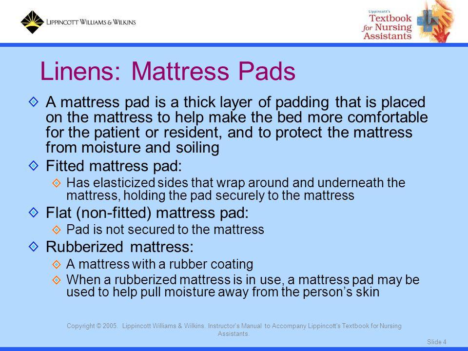 Linens: Mattress Pads