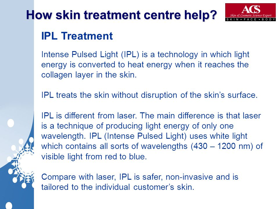 How skin treatment centre help