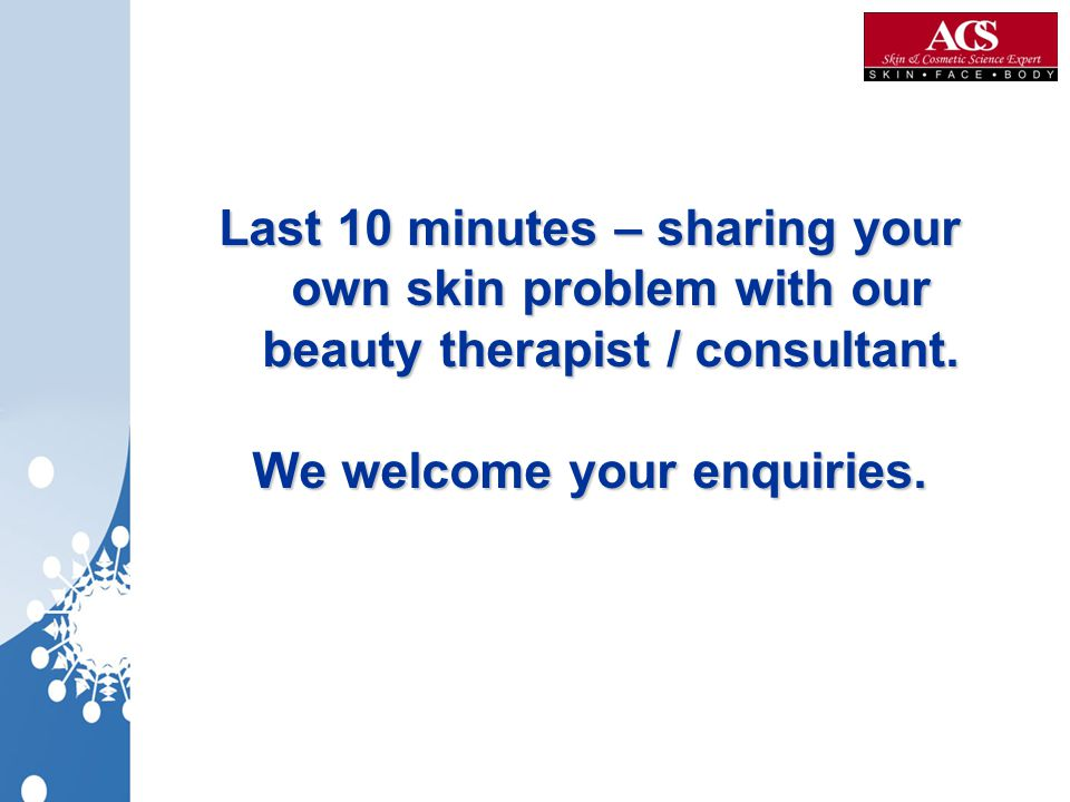 We welcome your enquiries.