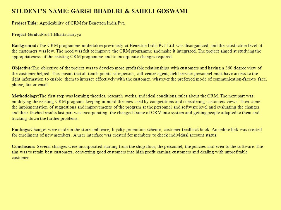 STUDENT'S NAME: GARGI BHADURI & SAHELI GOSWAMI