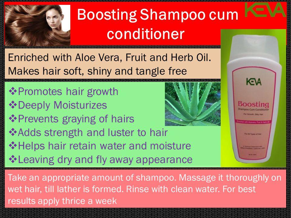 Boosting Shampoo cum conditioner
