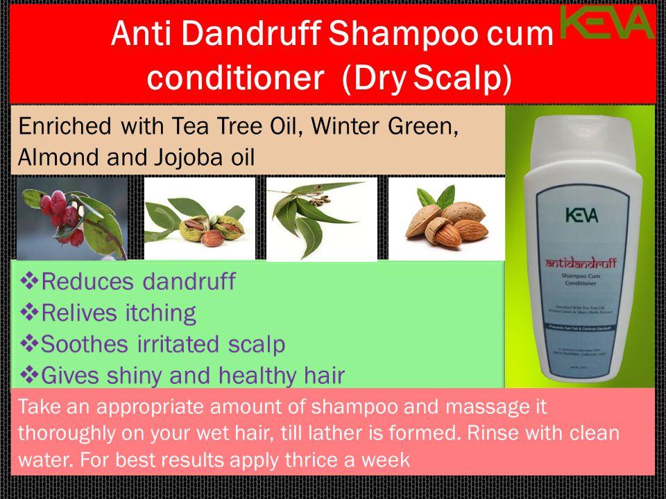Anti Dandruff Shampoo cum conditioner (Dry Scalp)
