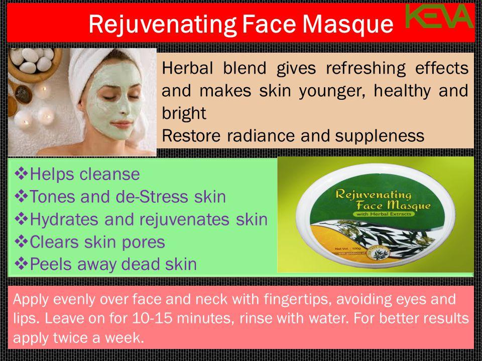 Rejuvenating Face Masque