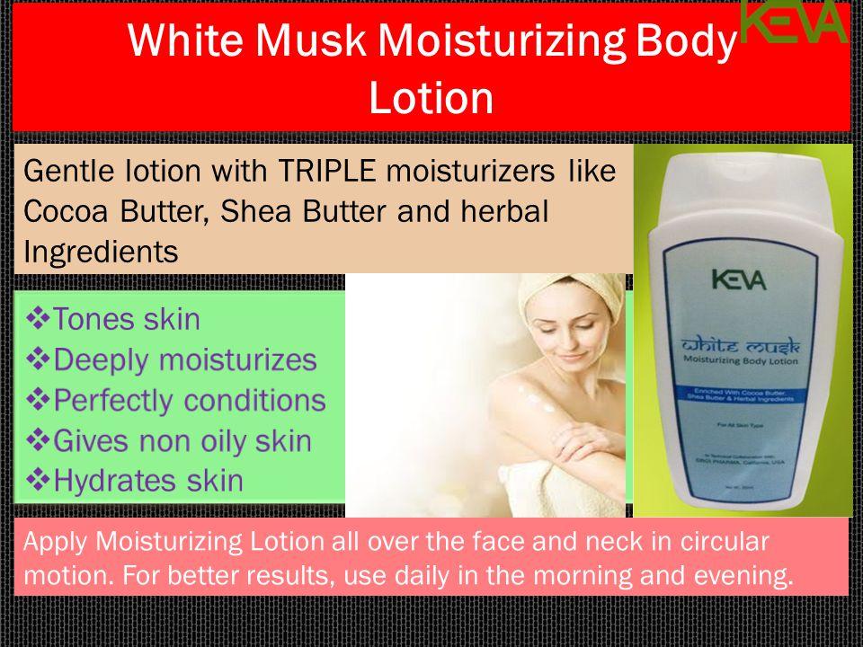 White Musk Moisturizing Body