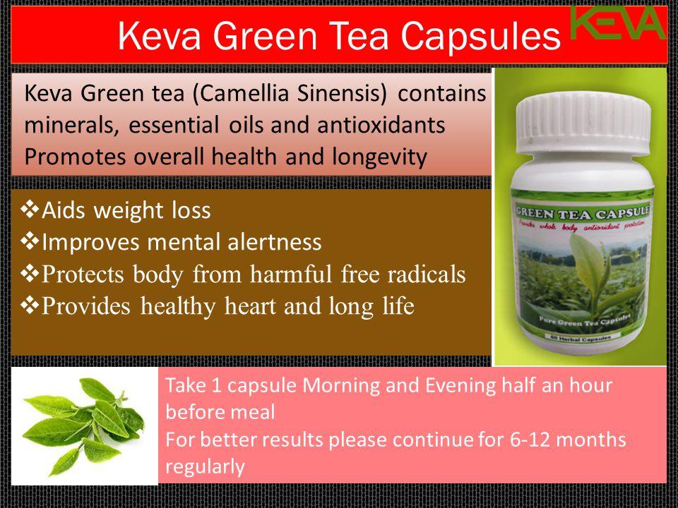 Keva Green Tea Capsules