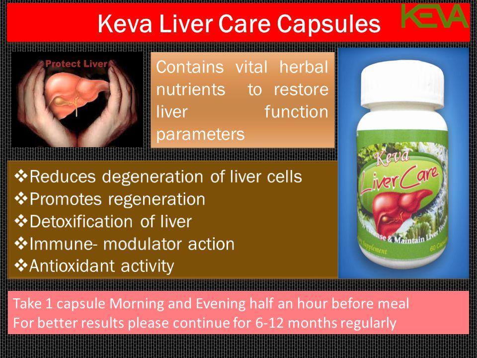 Keva Liver Care Capsules