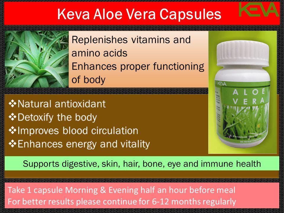 Keva Aloe Vera Capsules
