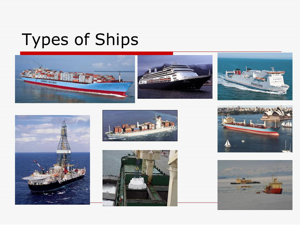 Types of Ships