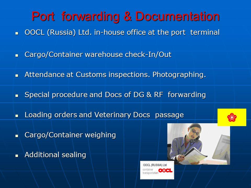 Port forwarding & Documentation