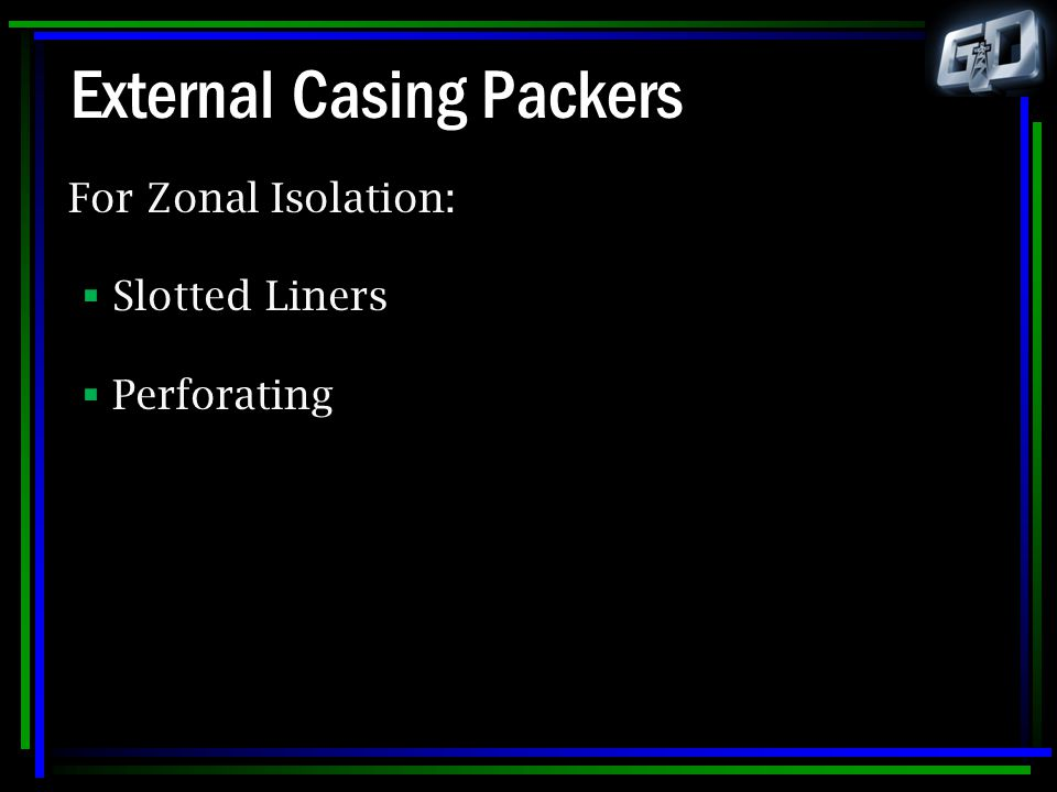 External Casing Packers