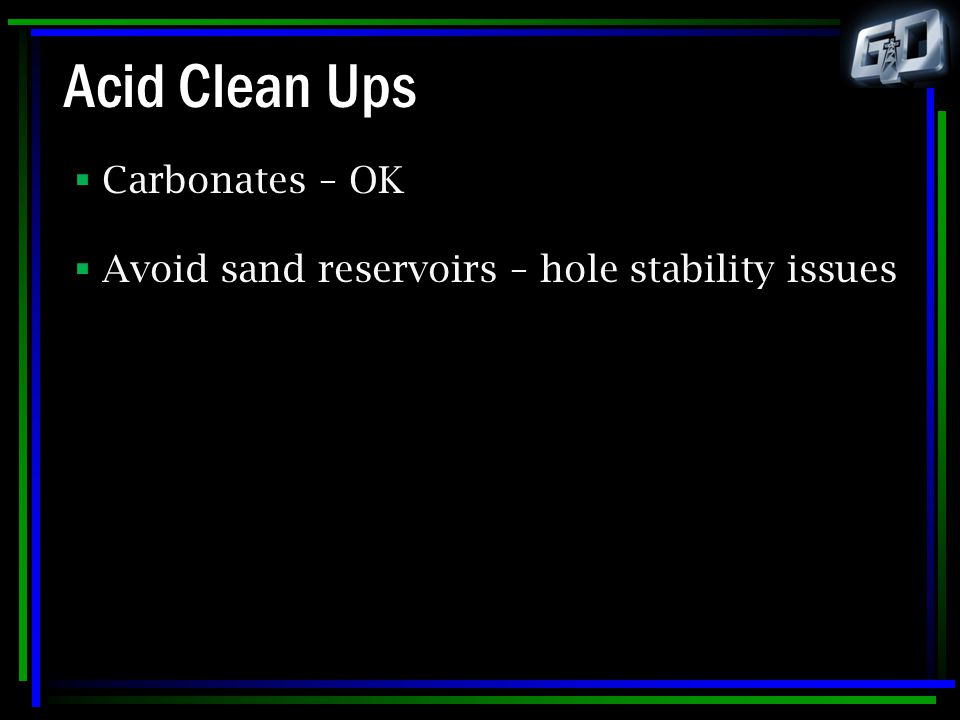 Acid Clean Ups Carbonates – OK