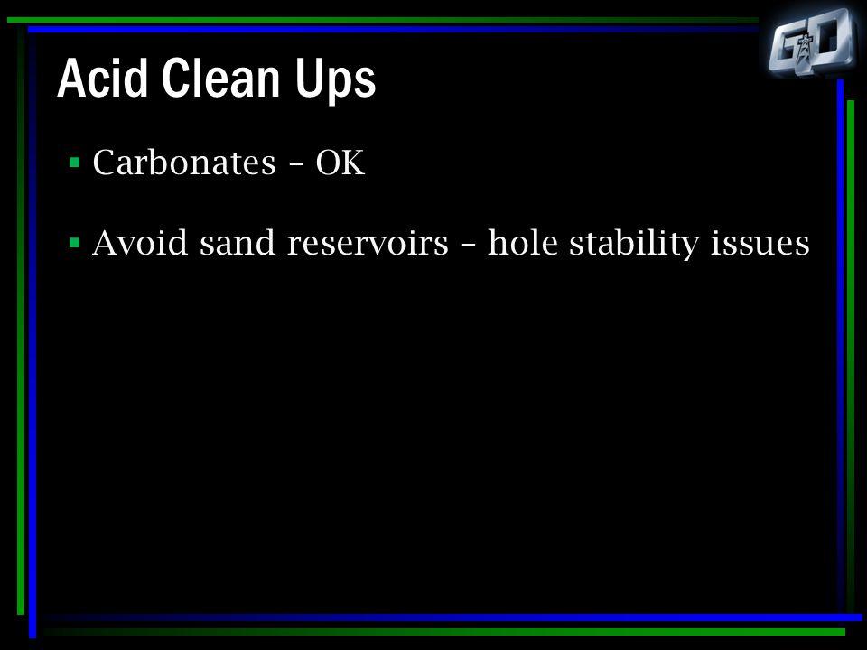 Acid Clean Ups Carbonates – OK