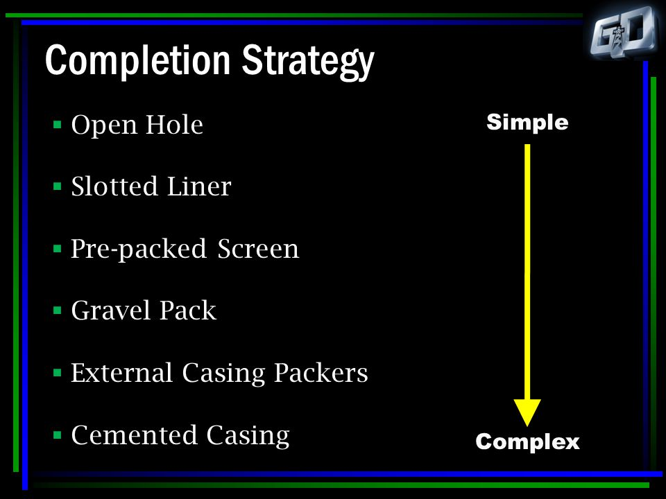 Completion Strategy Open Hole Slotted Liner Pre-packed Screen