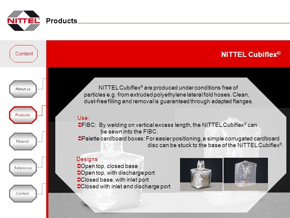 Products NITTEL Cubiflex®