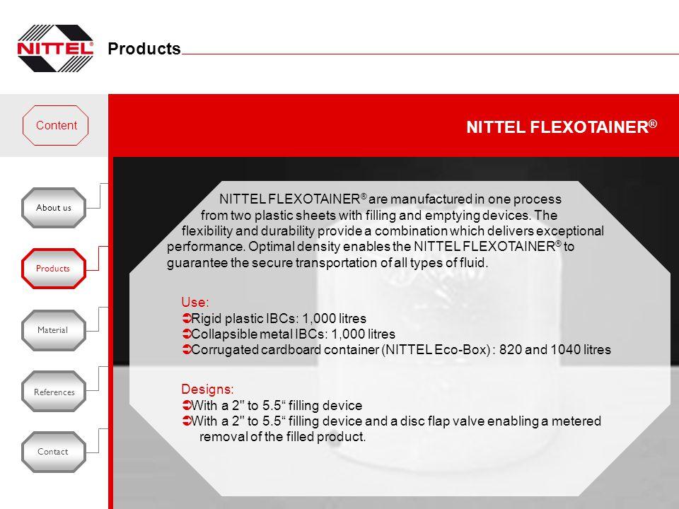 Products NITTEL FLEXOTAINER®
