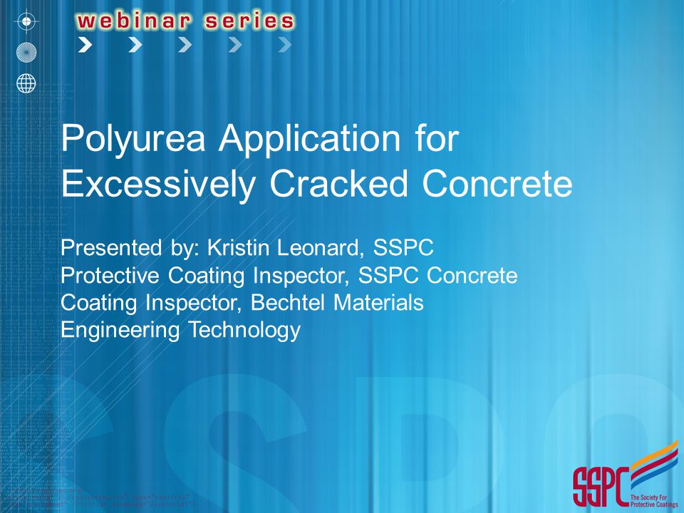 Polyurea Application for Excessively Cracked Concrete