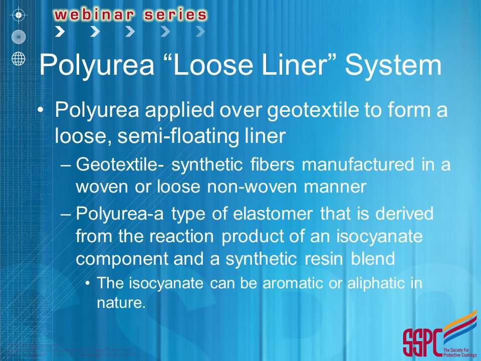 Polyurea Loose Liner System
