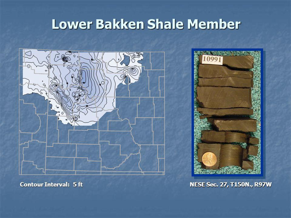 Lower Bakken Shale Member