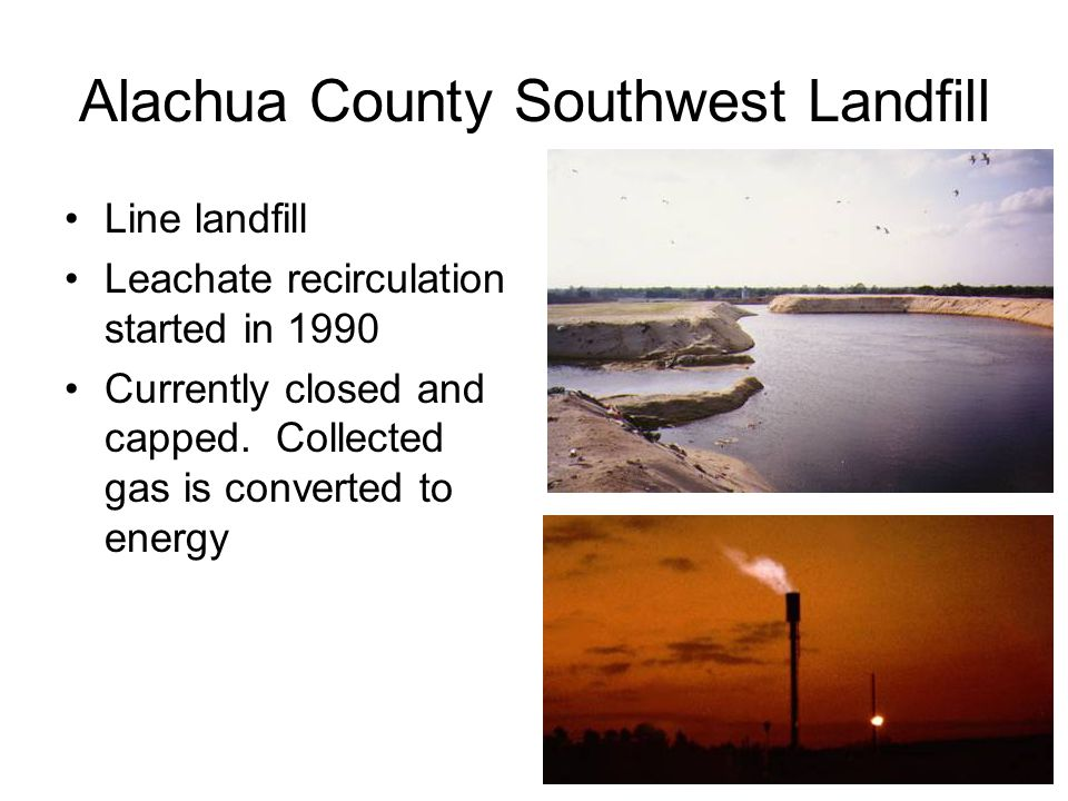 Alachua County Southwest Landfill