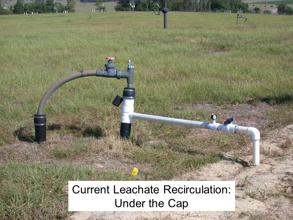 Current Leachate Recirculation: Under the Cap