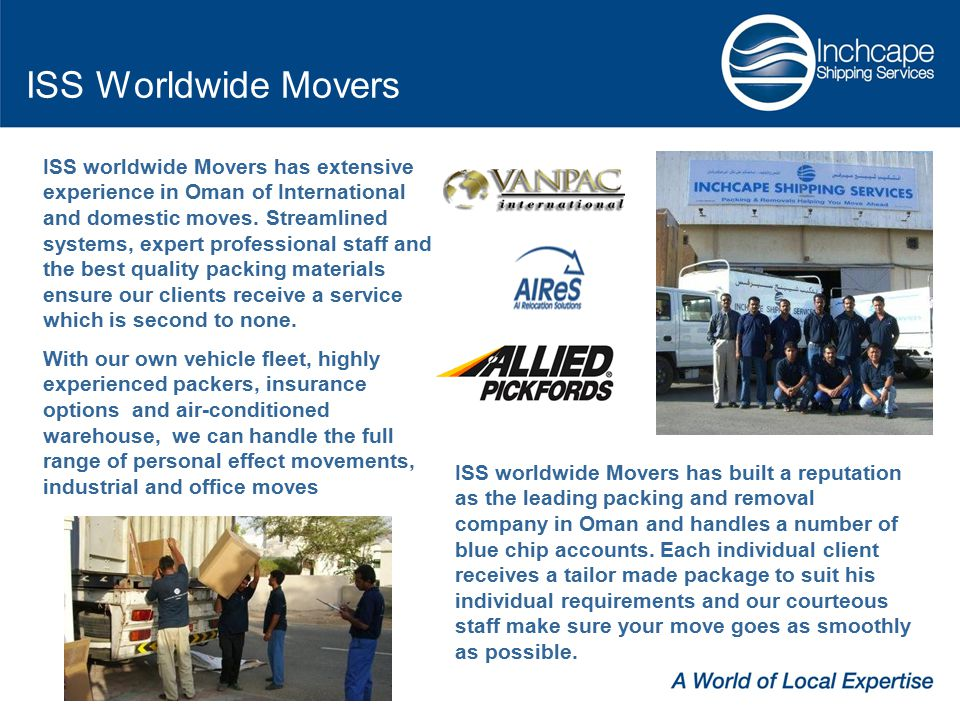 ISS Worldwide Movers
