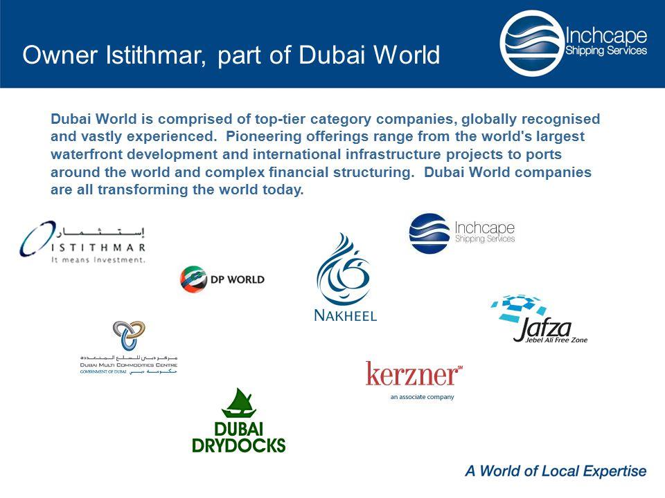 Owner Istithmar, part of Dubai World