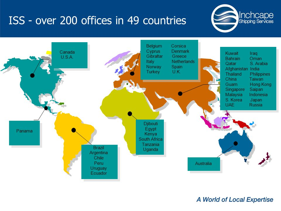 ISS - over 200 offices in 49 countries