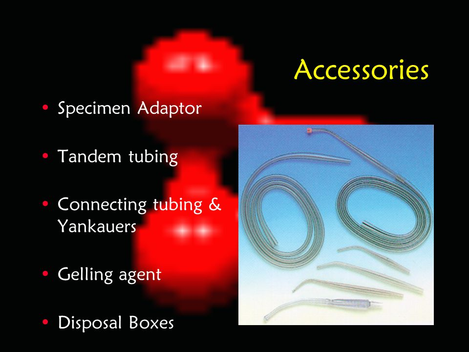 Accessories Specimen Adaptor Tandem tubing