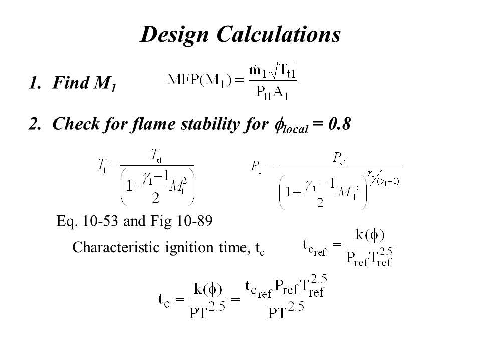 Design Calculations 1. Find M1