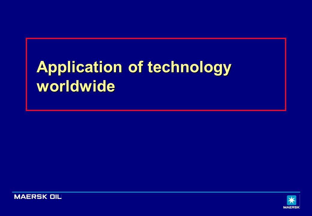 Application of technology