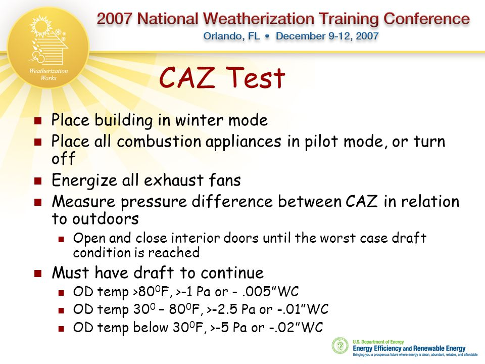 CAZ Test Place building in winter mode