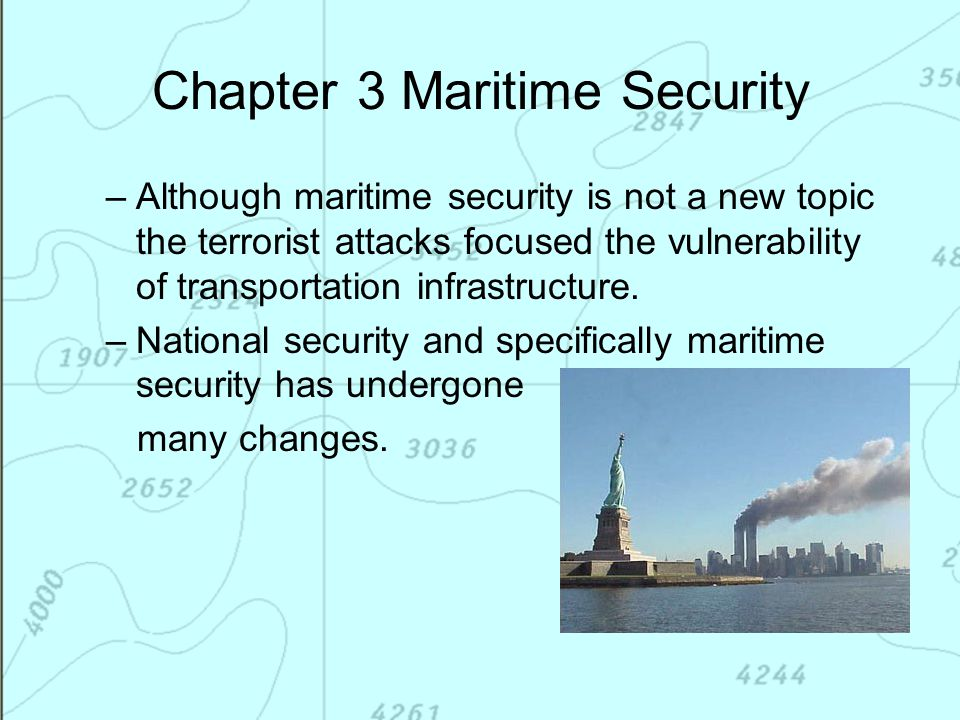 Chapter 3 Maritime Security